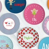 Up to 52% Off Personalized Kids' Plates from Lima Bean Kids
