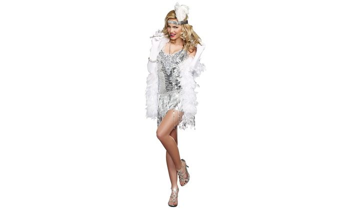 Women's Flapper Costumes (Size S)