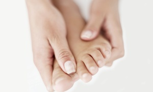 Ankle & Foot Centers, PC: Laser Toenail-Fungus Removal for One or Both Feet at Ankle & Foot Centers, PC (Up to 78% Off)
