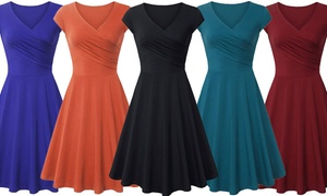 Lyss Loo Women's Spring Skater Flare Dress