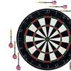 Pro Style Bristle Dart Board Set with 6 Darts