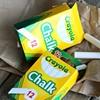 Crayola Non-Toxic White Chalk (48-Count)