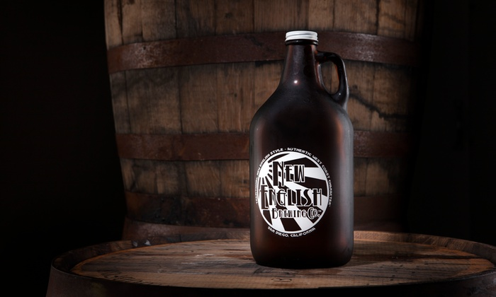 New English Brewing - New English Brewing: $26 for One Growler and Two Beer Fills at New English Brewing ($52.44 Value)
