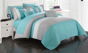 Anara Microfiber Comforter Set with Sheets (8- or 10-Piece)