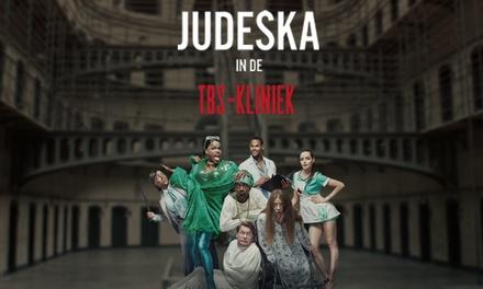 """Ticket voor """"Judeska in de TBSkliniek"""" met Jandino Asporaat op 23 mei 2019 in het Wilminktheater in Enschede"""