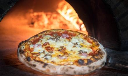 2 o 4 pizzas con 2 o 4 bebidas a recoger en el local desde 12,95 € en Restaurante Bussola