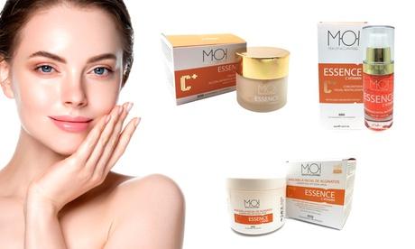 Productos para el cuidado de la piel con vitamina C
