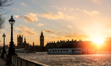 Adult, Child or Senior Ticket for a TwoHour Thames Sunday Evening Cruise from Viscount Cruises