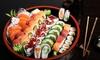 136 pezzi di sushi d'asporto