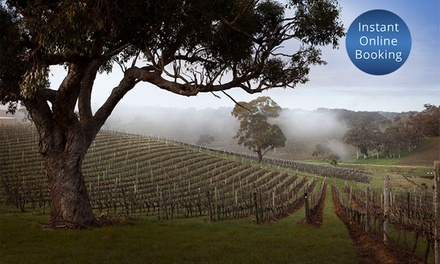 Adelaide Hills: Up to 3Night Wine Country Escape for Two People with Breakfast and Late CheckOut at Longview Vineyard