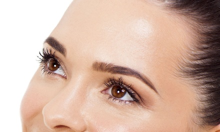 Eyebrow Microblading ($299) or Comination Brows ($349) at Get Polished (Up to $750)