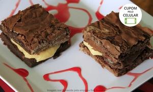 Bob Brownie: Bob Brownie – Cremação: caixa com 4 ou 6 brownies