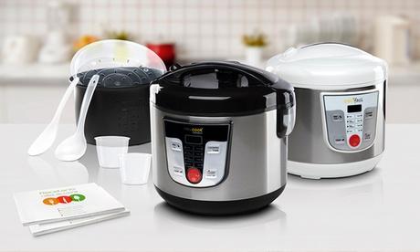 Robot de cocina programable Newcook Masterful o Silver con 5 litros capacidad