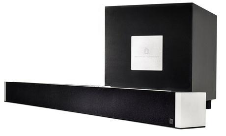 Definitive Technology Wireless Sound Bar & Subwoofer (Manufacturer Refurbished) (Goods Electronics Home Audio) photo