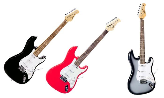 Pyle Beginner Electric Guitar Package