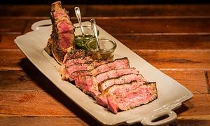 VAIVAI | Italien Grill & Bar: 1000 g Bistecca Dry-Aged T-Bone Steak alla Fiorentina inkl. Beilagen und Sauce nach Wahl im VAIVAI Italien Grill & Bar