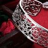 Roman Design Filigree Cuff Bangle by Jewelry Elements