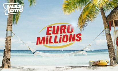 image for 16 Euromillions Line Bets at Multi Lotto (75% Off)