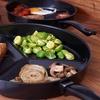 Non Stick Divider Frying Pan Set Groupon Goods