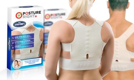 1 of 2 magnetische steuntopjes voor een goede houding van nek, rug en schouders, vanaf € 6,99 (tot 93% korting)