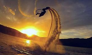 Jet Ski Aventure: Séances de flyboard de 15 ou 30 min pour 1 personne dès 49 € chez Jet Ski Aventure