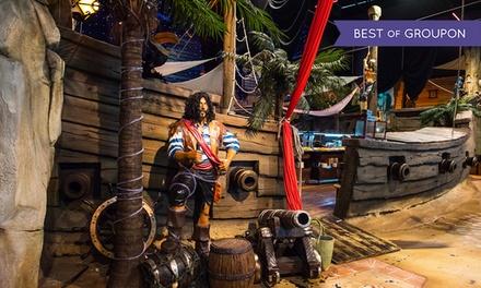 Buffet à volonté et café du pirate pour 2 personnes à 51,90 € chez Le Repère des Pirates