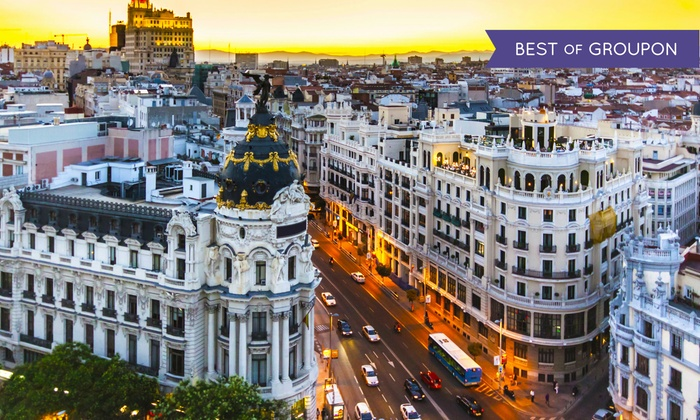 Explore the Streets of Madrid on Vacation with Airfare