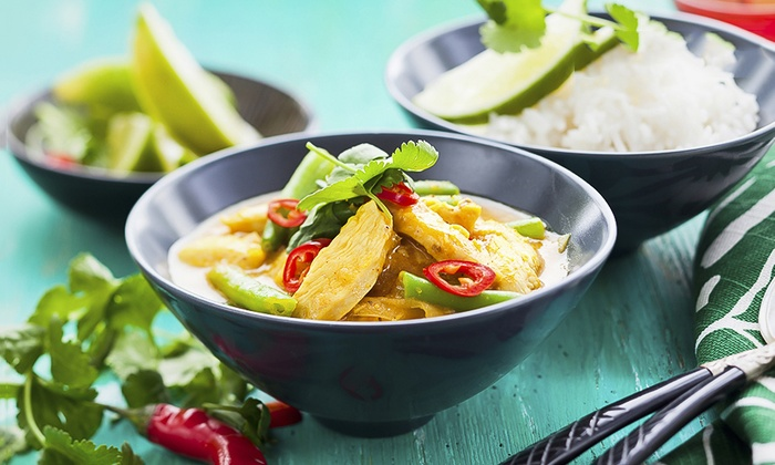 Crazy Wendy's - Didsbury: Two-Course Thai Meal With Prawn Crackers and Side for Two or Four at Crazy Wendy's (Up to 57% Off)