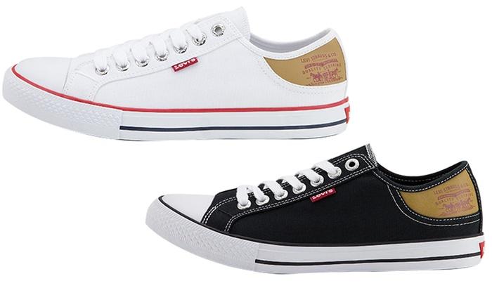 chaussure levis en toile
