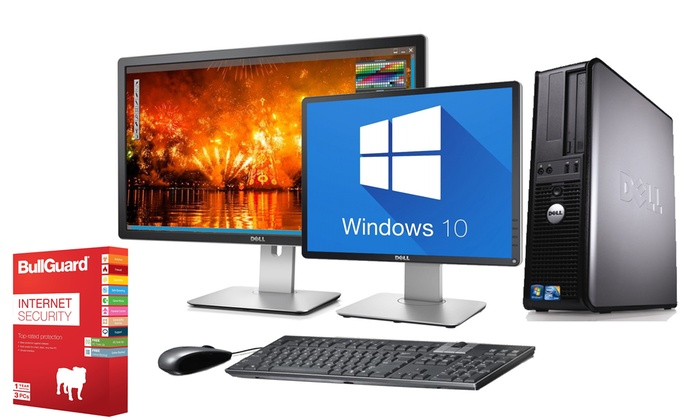 Computer Remarketing Services Ltd: Refurbished Dell OptiPlex 745/755 PC, Option for 19'' or 22'' Monitor and Antivirus + 1 Year Warranty With Free Delivery