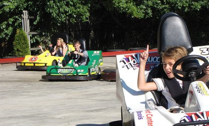 image for Food and Fun Package or Family and Friends Food and Fun Package at Hollywood Park (Up to 34% Off)