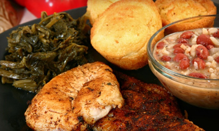 Craves Soul Food - North Charleston: Soul-Food Catering for Up to 15 with Pickup or Up to 25 with Delivery from Craves Soul Food (Up to 53% Off)