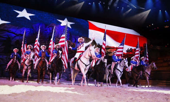 image relating to Dixie Stampede Coupons Printable identified as Dolly Partons Stampede Branson 2019 - Branson, MO Groupon