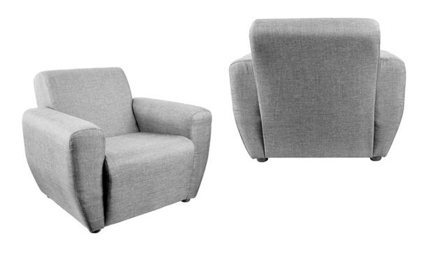 Modern Fabric Mini Sofa Arm Chair Purple Lazada Malaysia