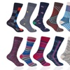 Stacy Adams Men's Dress Socks (10-Pack)
