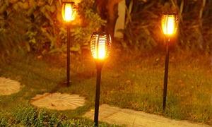 Torche solaire pour le jardin