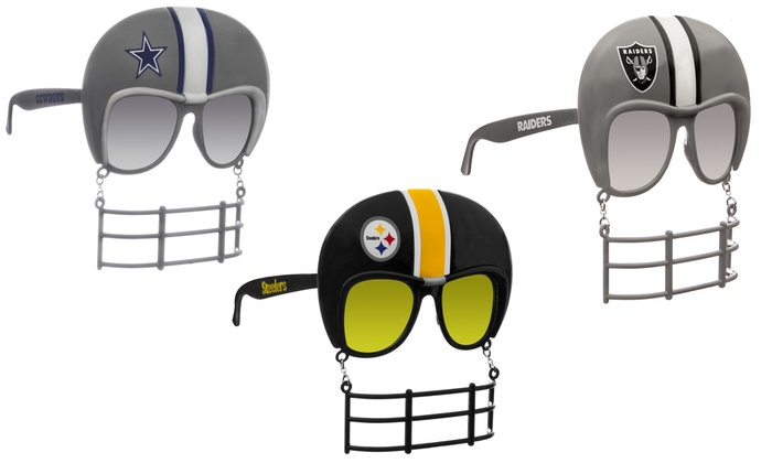 5b82c01283e4 Up To 35% Off on NFL Novelty Sunglasses