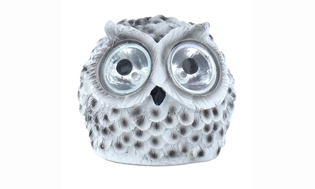 Solar Owl Light, Solar Powered, Solar, Owl, Animal, LED, Outdoor, Lighting,  Outdoor Lighting, Garden, Garden Light
