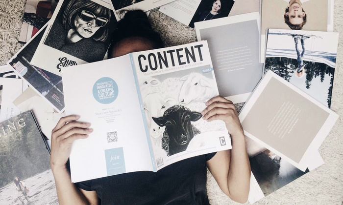 Content Magazine: One- or Two-Year Subscription with Subscriber Parties from Content Magazine (Up to 56% Off)