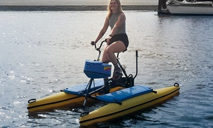 Monterey Bay Hydrobikes: Two-Hour Hydrobike Rental for One or Two at Monterey Bay Hydrobikes (Up to 51% Off)