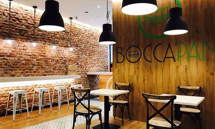 Boccapan - Boccapan: Menú para dos con combo de entrantes o ensalada, principal, postre y bebida desde 16,95 € en Boccapan