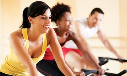 One-Month Membership or 20 One-Hour Classes at REVOLUTION Cycle + Fitness (Up to 85% Off)