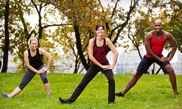 Fitness Battalion - Multiple Locations: 5 or 10 Outdoor Boot-Camp Classes at Fitness Battalion (Up to 78% Off)