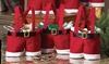 Santa Trousers Mini Gift Bag