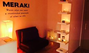 Meraki Terapias: Masaje de hasta 90 minutos a elegir o ritual premium desde 16,95 € en Meraki Terapias