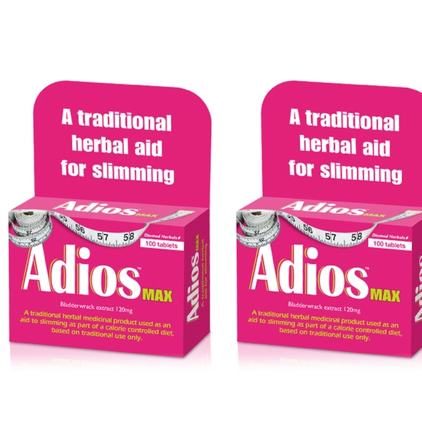 300 Or 600 Adios Max Strength Weight Management Tablets