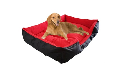 Extra Large Cushioned Dog Bed