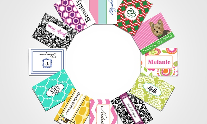up to 85 off personalized flat or folded note cards - Personalized Flat Note Cards