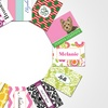 Up to 85% Off Personalized Flat or Folded Note Cards