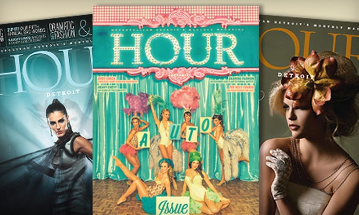 """Hour Detroit Magazine: One-Year or Two-Year Subscription to """"Hour Detroit"""" Magazine (Up to 55% Off)"""